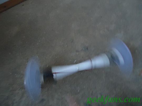 圆周运动机器人制作方法