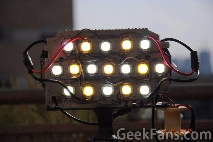动态可调LED面板diy图解