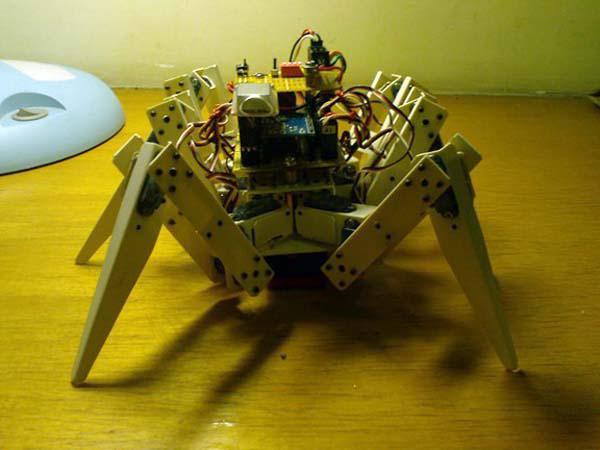 六足机器人制作过程