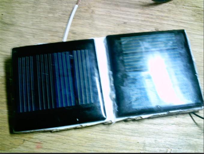 太阳能风扇制作图解