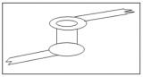 没有盘,过孔如何与导线形成电气上的连接呢?