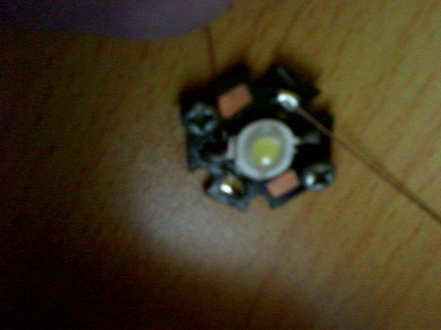 可调亮度的LED灯制作方法