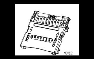讯普翻盖TF卡座图纸TF-102-15详细工艺原理图资料免费下载