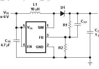 两款低压DC/DC升压转换器应用电路