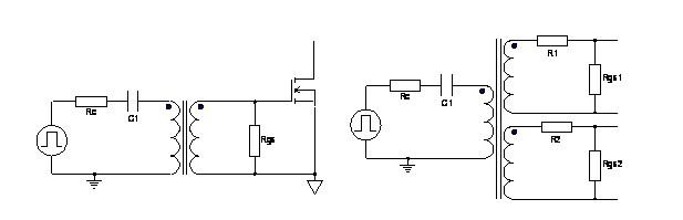 脉冲驱动变压器是什么 脉冲驱动变压器电路图