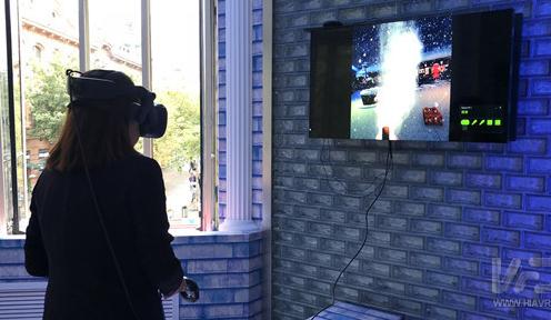 哈尔滨游客服务中心大升级,戴上VR眼镜就感受雪山飞驰