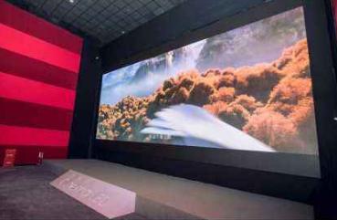 巨头力推LED大屏,LED屏幕是否能走进影院?