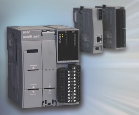 IDEC发布了一款PLC产品,可以控制和监控大型机器或整个小型制造设施