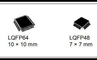 小容量微控制器STM32F102x4和STM32F102x6的详细资料和数据手册免费下载