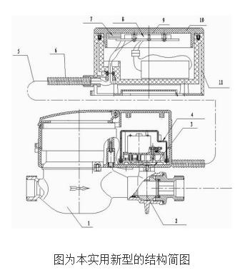 分体外挂式智能水表的工作原理及设计