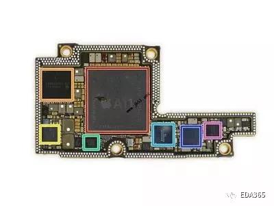 苹果手机iphone x 拆解图解