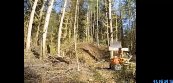 TreeRover:自动植树机器人,可实现自动大面积自动植树