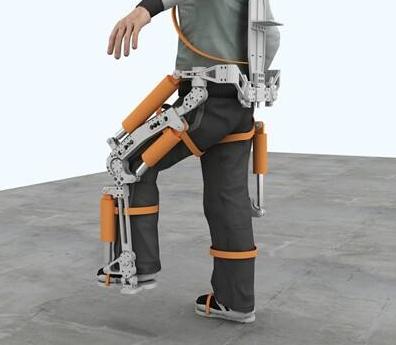 LG电子将公开可以直接穿戴在身上的可穿戴机器人