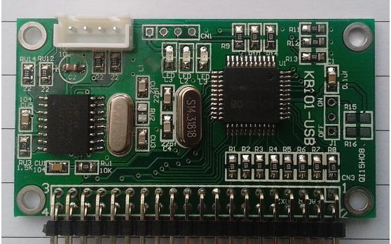 USB-KB101 USB键盘模块的详细数据手册免费下载