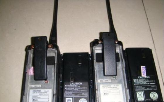 健伍TH-26A,TG-28A,TH-28A和TK208对讲机检修实例说明