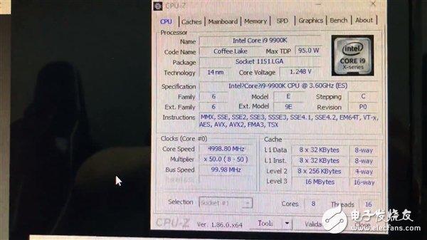9900K跑分曝光 稳了_发动机型号