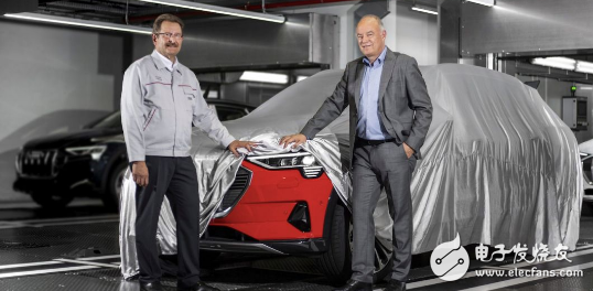 繼奔馳發布EQC后,奧迪正式發布旗下首款純電動S...