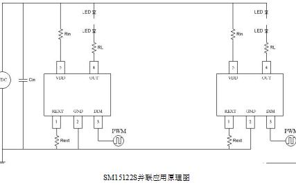 SM15122S单通道LED恒流驱动控制芯片的的详细中文数据手册免费下载
