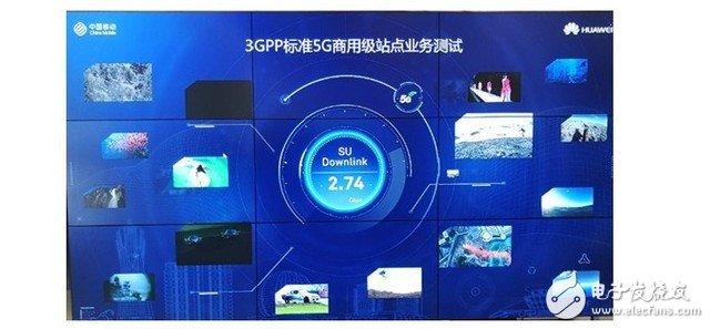 华为通讯在杭州成功开通了满足3GPP标准的5G站...