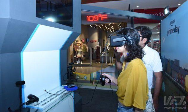 亚马逊开放VR信息亭,让用户能在线体验购买产品