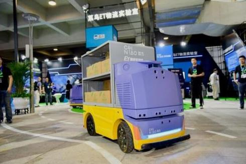阿里推出自动驾驶送货机器人:可以携带多种不同尺寸...