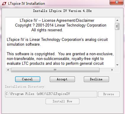 LTspice IV高性能Spice III仿真器应用程序免费下载