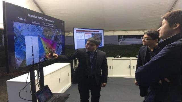 内蒙古联通联合华为成功完成了FDD Massive MIMO外场峰值试点测试