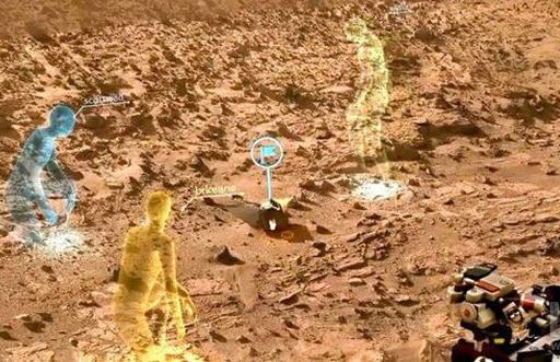 VR/AR技术全面融入NASA,通过虚拟火星制定下一步行动