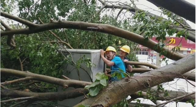 山竹台风来袭,中兴通讯迎难而上,确保了台风经过的区域通讯畅通