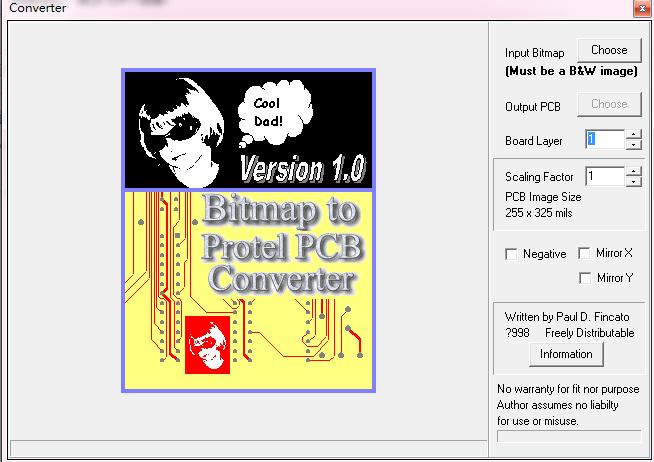 PCB抄板软件Bmp2PCB应用程序免费下载