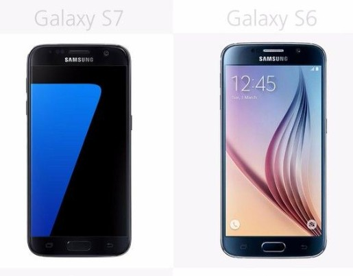 三星S7和三星S6的區別對比
