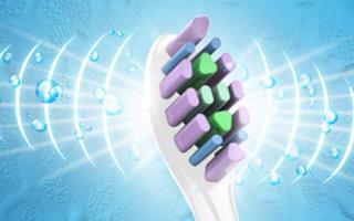 XNUO心诺电动牙刷采用声波震动技术带来不一样洁牙体验