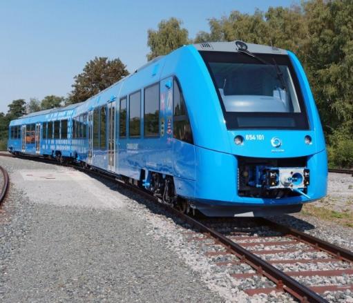 全球首列氢燃料电池列车正式在德国投入商用,最高时速可达140公里