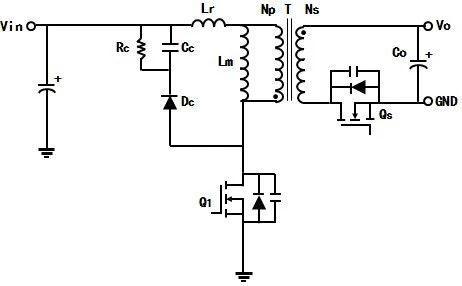 ZVS軟開關反激變換器的工作原理分析