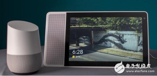 谷歌将推出自己的带屏智能音箱Home Hub,售价为149美元