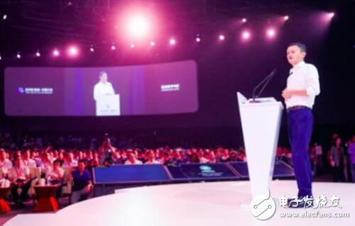 <strong>马云:IoT芯片领域,中国企业有机会换到超车</strong>