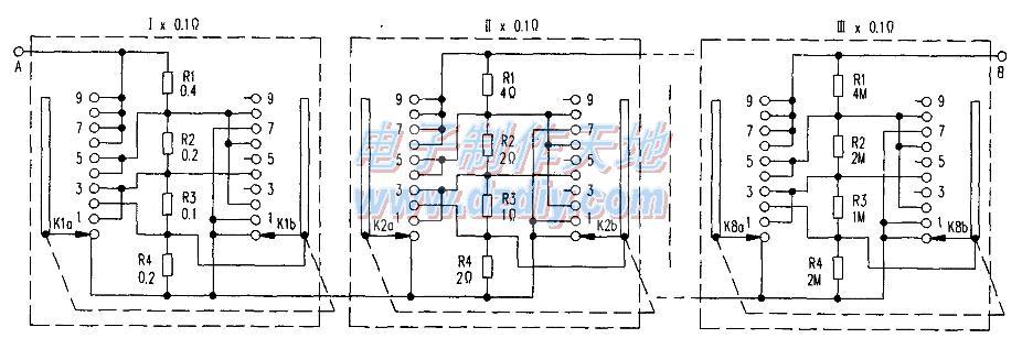 简易电阻箱的制作方法