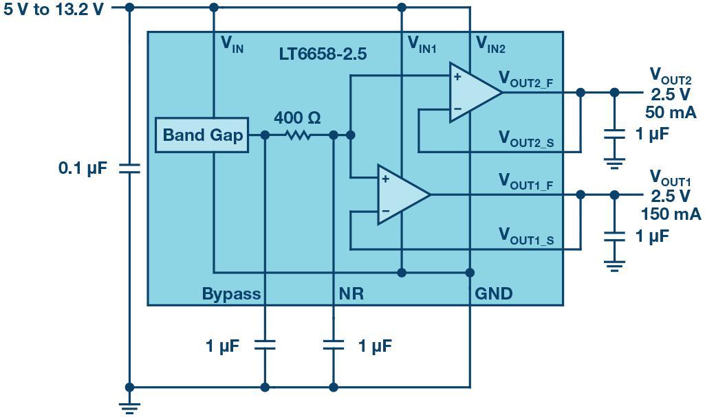 一款用于基准电压源的低漂移稳压器性能讲解