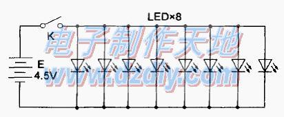常见的三款LED灯电路