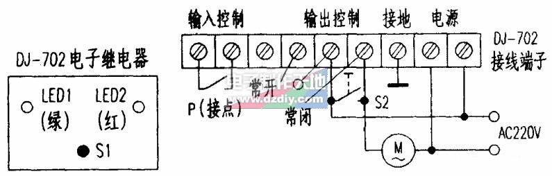 通风机增加温度自动控制装置