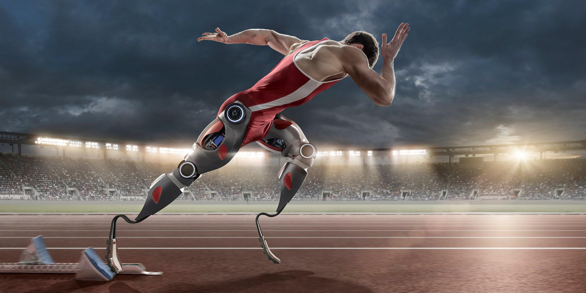 通过传感器、动力源和控制单元为外骨骼结构提供机动性