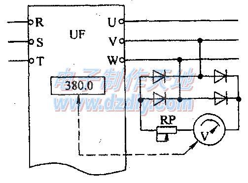 实用的三相整流式电压表分享