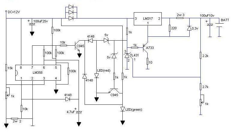 介绍一种实用的锂电池充电器