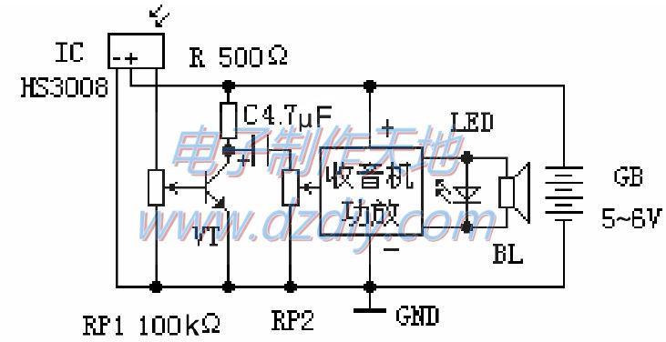 自制红外线遥控器检测仪