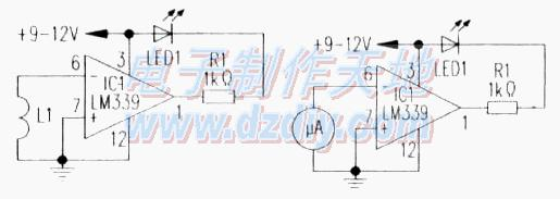 基于LM339的磁场检测电路设计制作