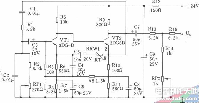 2.5kHz文氏橋信號發生器的工作原理
