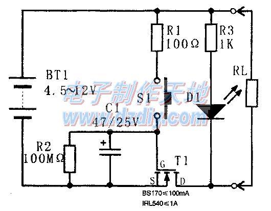 具有自动断电功能的轻触开关的原理及制作