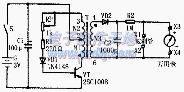 晶体管反向击穿电压测试器的原理及制作