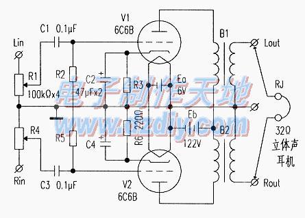 微型电子管6C6B的特性及应用