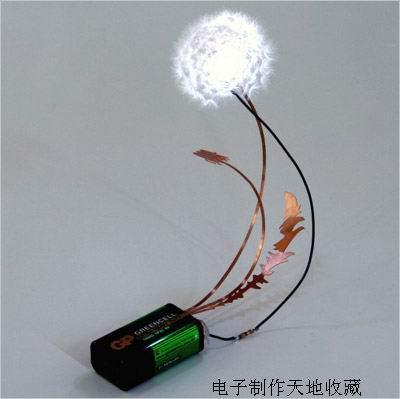 蒲公英LED灯